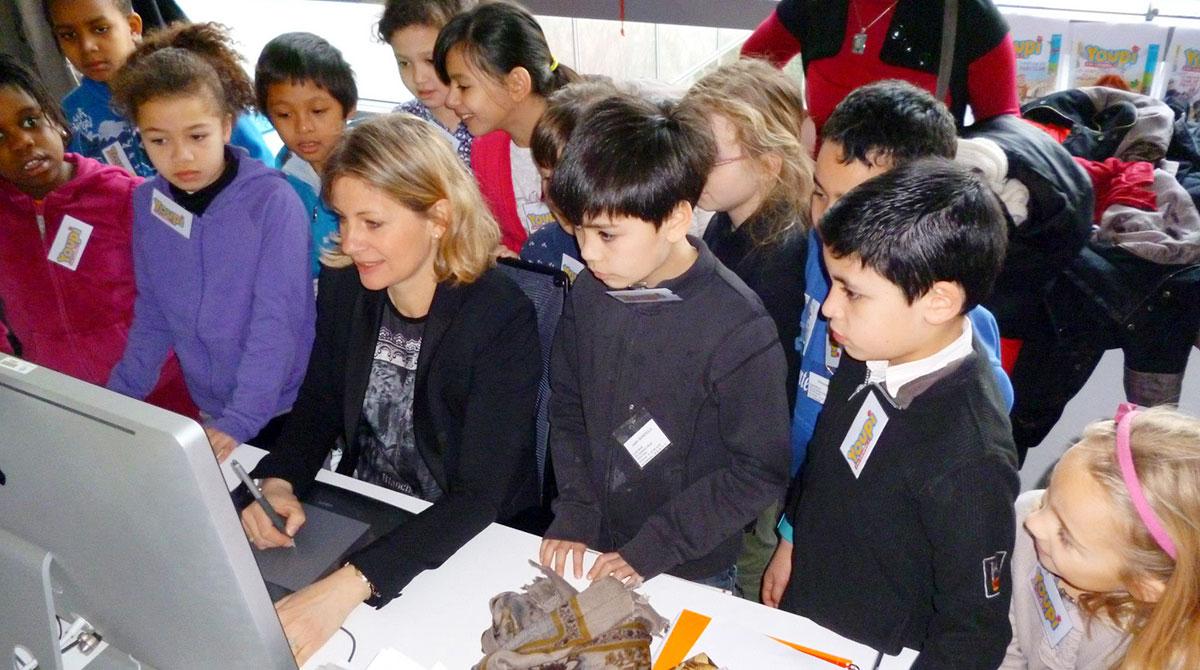 Semaine de la presse et des médias dans l'école : Bayard Jeunesse ouvre ses portes aux enfants ! © Frédéric Albert