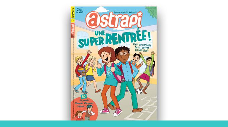 couverture du magazine Astrapi 2020