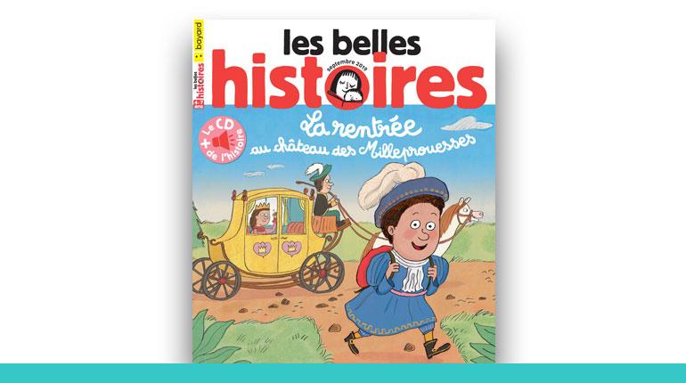 couverture du magazine Les Belles Histoires 2020