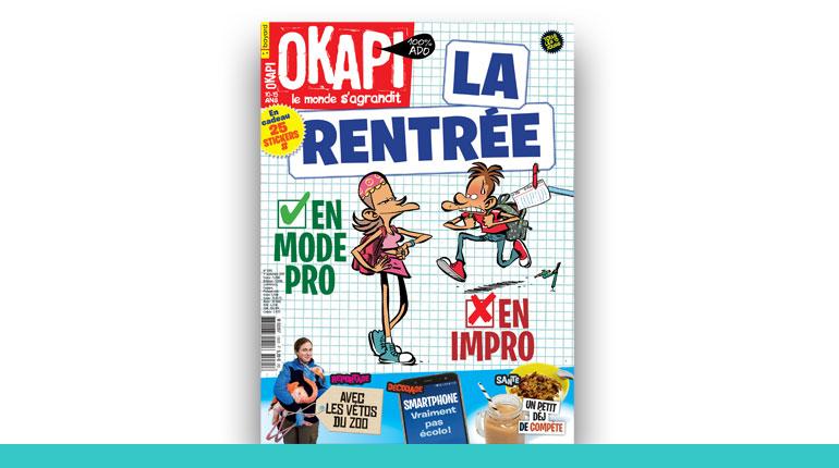 couverture du magazine Okapi 2020