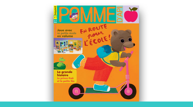 couverture du magazine Pomme d'Api 2020
