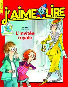 J'aime lire - L'invitée royale