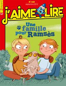 J'aime lire - Une famillepour Ramsès