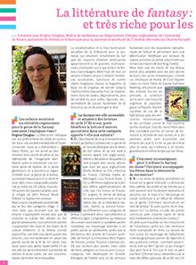 La littérature de fantasy : appréciée des lecteurs, et très riche pour les apprentissages en classe
