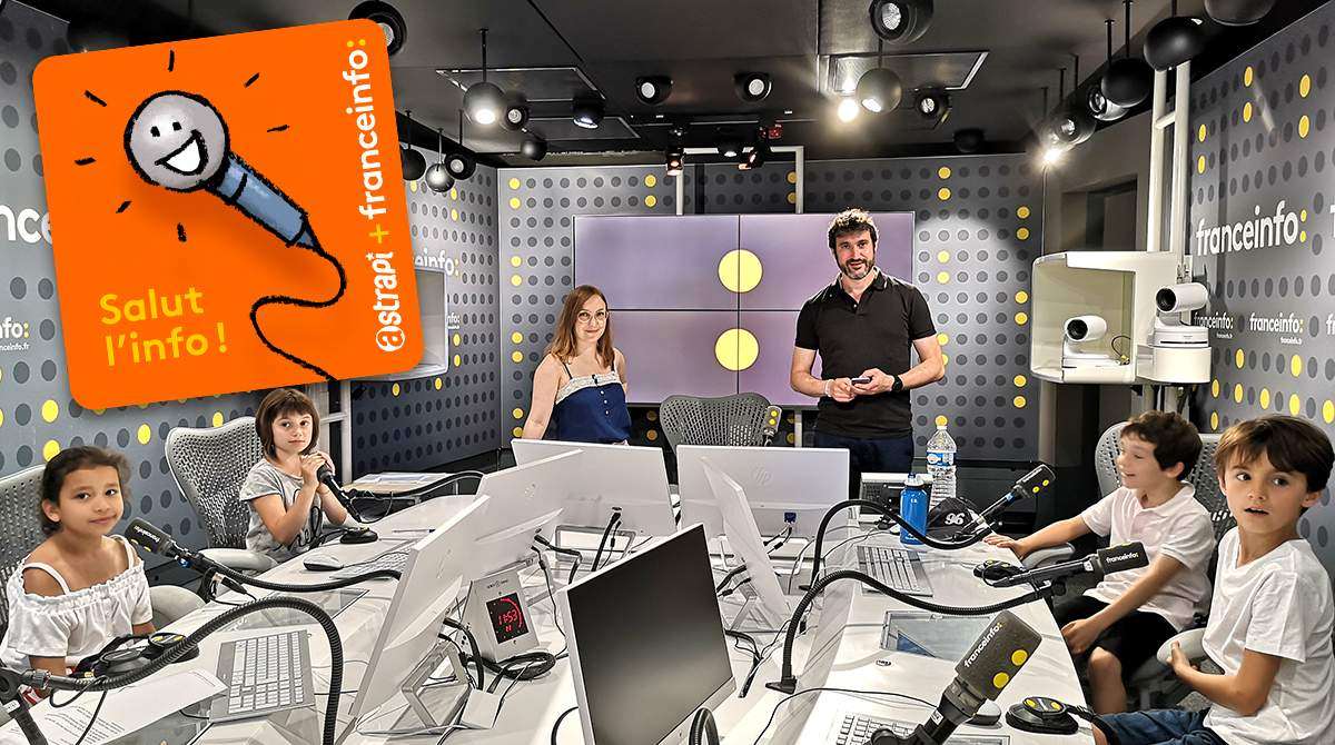 Podcast Astrapi et franceinfo 'Salut l'info !'
