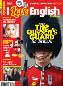 couverture du magazine I Love English