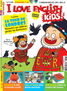 couverture du magazine I Love English for Kids
