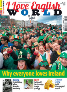 couverture du magazine I Love English World