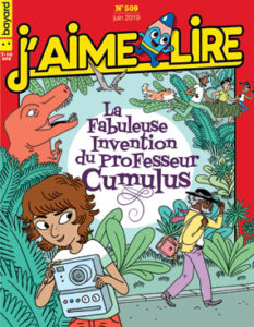 couverture du magazine J'aime lire