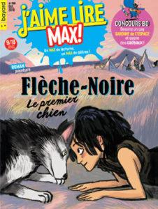 couverture du magazine J'aime lire Max