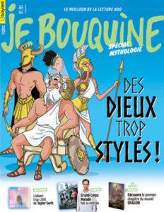 couverture du magazine Je Bouquine