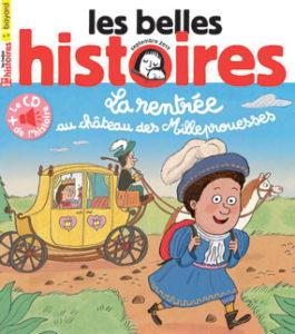 couverture du magazine les Belles Histoires