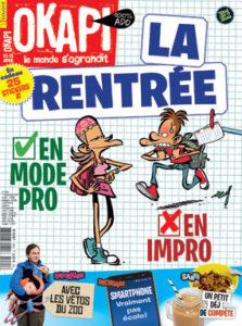 couverture du magazine Okapi