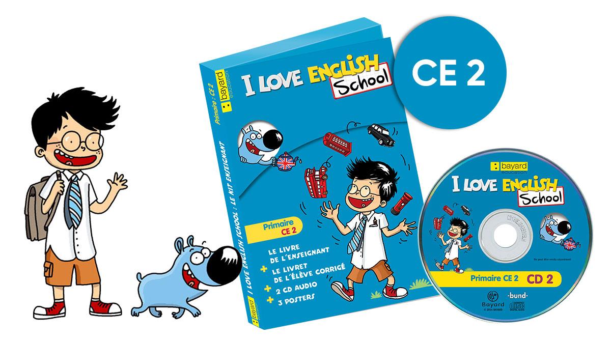 Mallette I Love English School CE2
