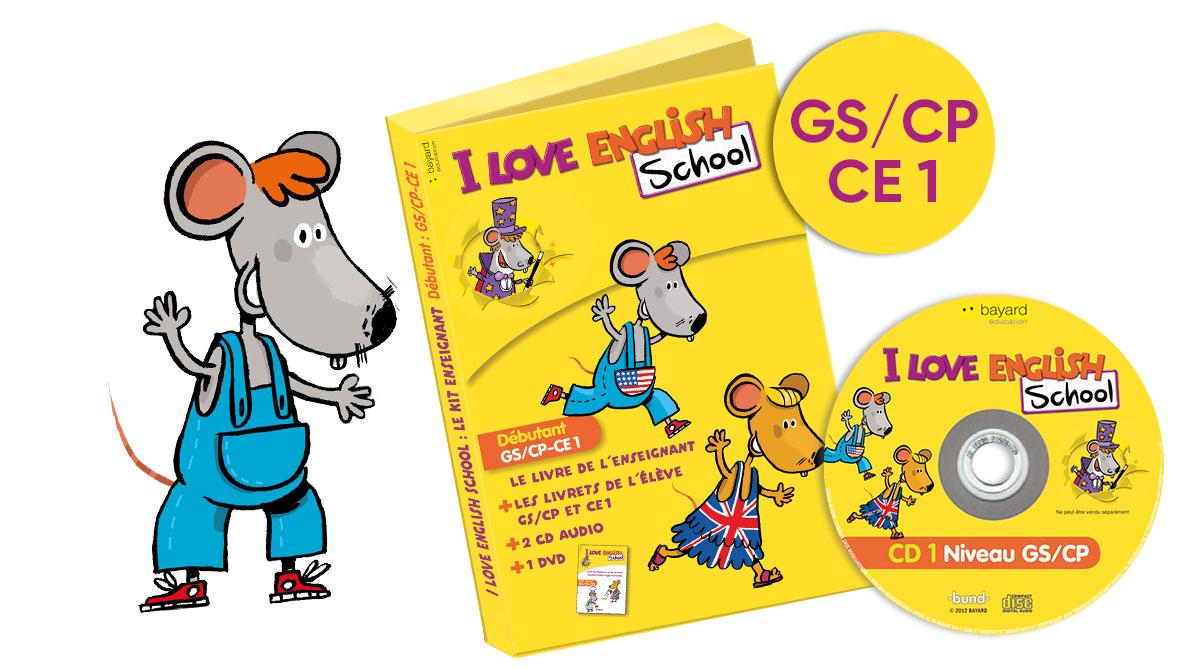 Mallette I Love English School GS/CP-CE1