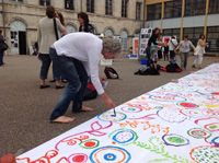 Hervé Tullet à l'Ageem Chaumont 5 juillet 2013