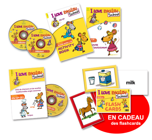 Populaire Méthode d'apprentissage de l'anglais Cycle 2 I Love English School  NE38